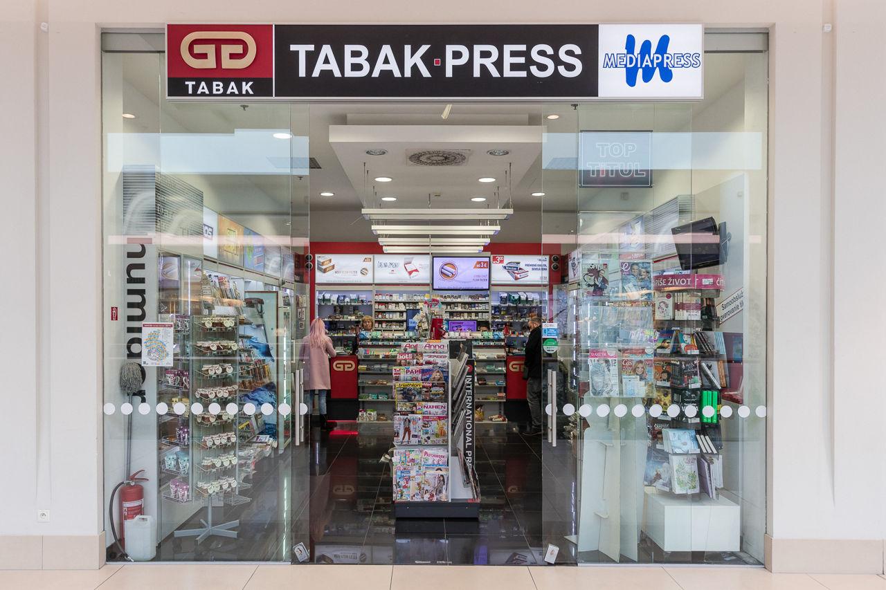 Nový obchod : GG TABAK